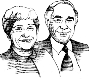 Enrico and Marie Vespa